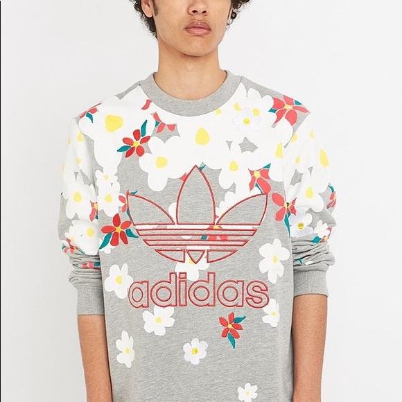 9c31a6beb adidas Sweaters - Pharrell Williams Trefoil Crewneck